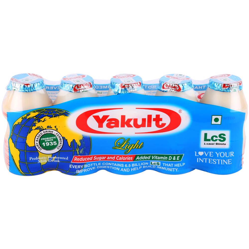 Yakult Light Probiotic Drink 339g Pack Of 5Pcs