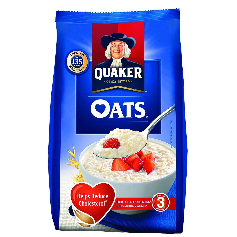 Quaker Oats Pouch 1kg