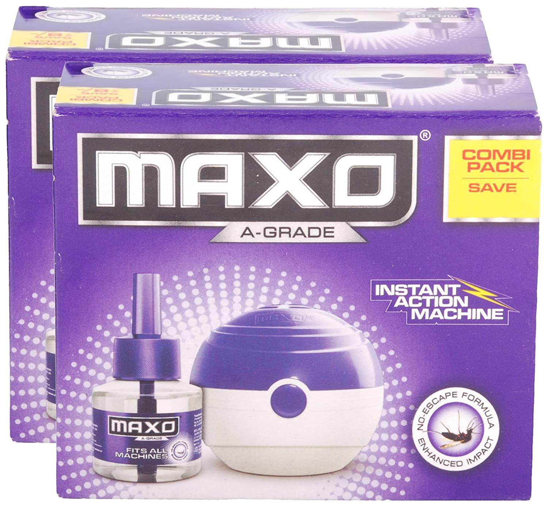 Maxo Mosquito Repellent Liquid Refill 45ml Combo Pack