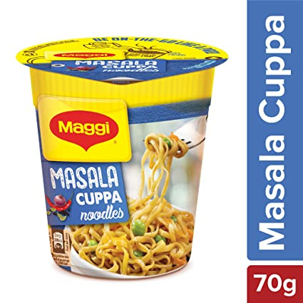 Maggi Masala Cuppa Noodles 70g Cup