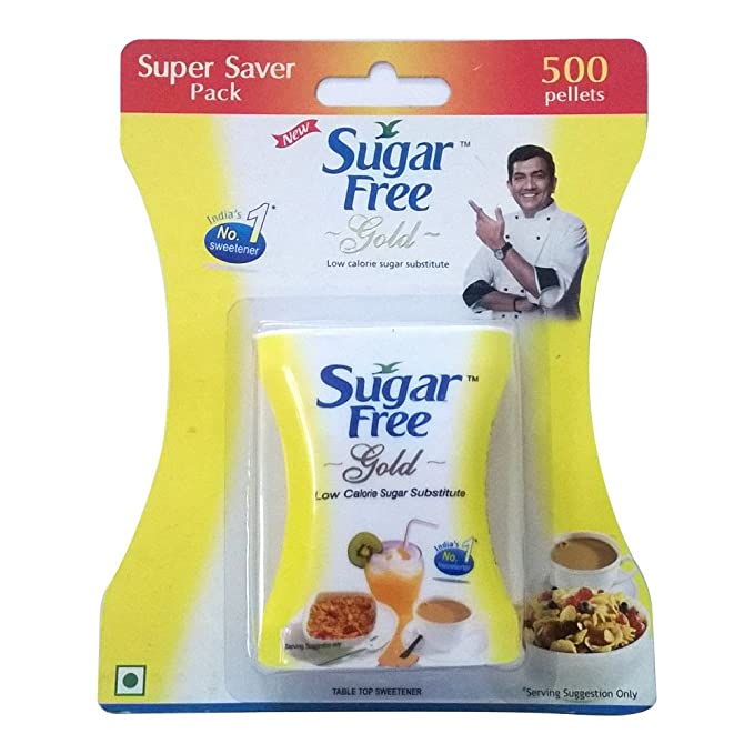 Sugar Free Gold Low Calorie Sweetner 500 Pellets