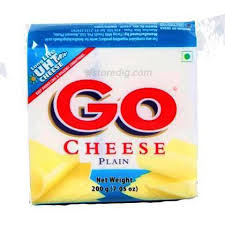 Go Cheese Slice Plain 200g