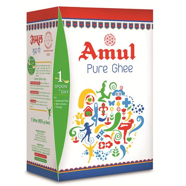 Amul Ghee 1Ltr Tetra Pack