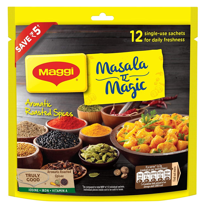 Maggi Masala Magic Veg 72g Pouch