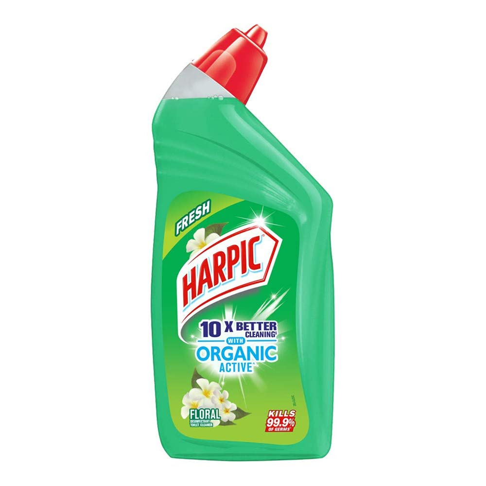 Harpic Organic Active disinfectant toilet cleaner Floral 500ml