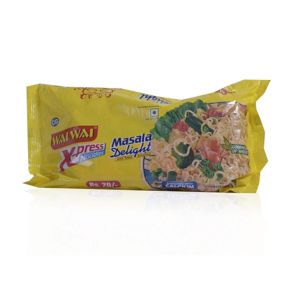 Wai Wai Masala Delight Veg Noodles 140g