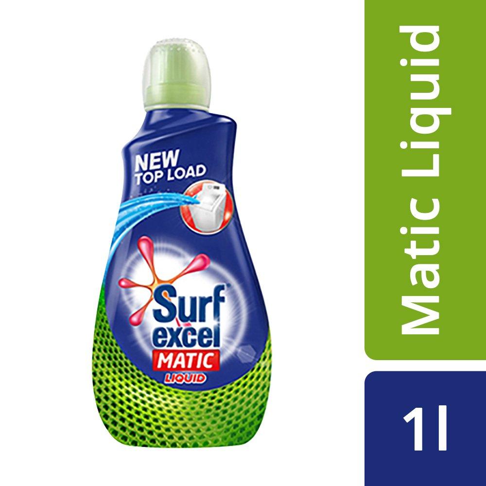 Surf Excel Matic Top Load Liquid Detergent 1.02Ltr