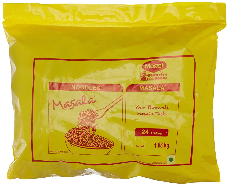 Maggi 2 Minutes Noodles 1.68kg 24 Cakes