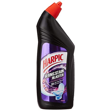 Harpic Germ & Stain Blaster Floral Toilet Cleaner 750ml