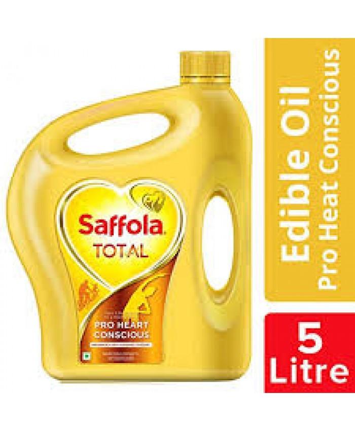 Saffola Total Pro Heart Conscious Edible Oil 5Ltr Jar