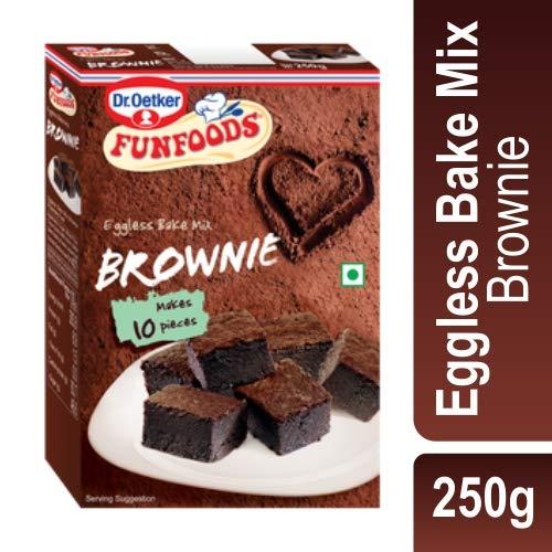 Funfoods Eggless Cake Mix Brownie 250g