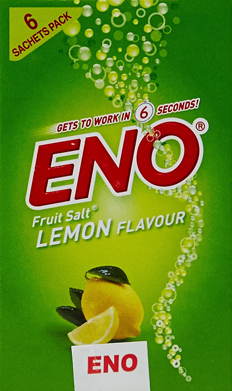 Eno Fruit Salt Lemon 5+1Pcs