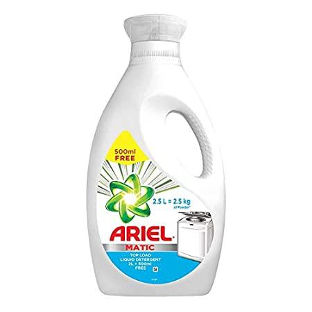 Ariel Matic Liquid Top Load 2Ltr + 500ml Free