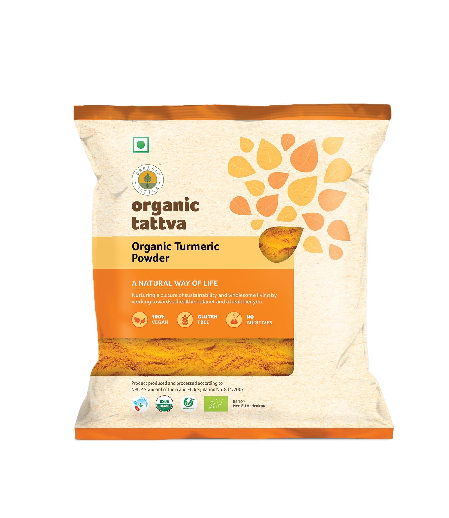 Organic Tattva Turmeric Powder 100g