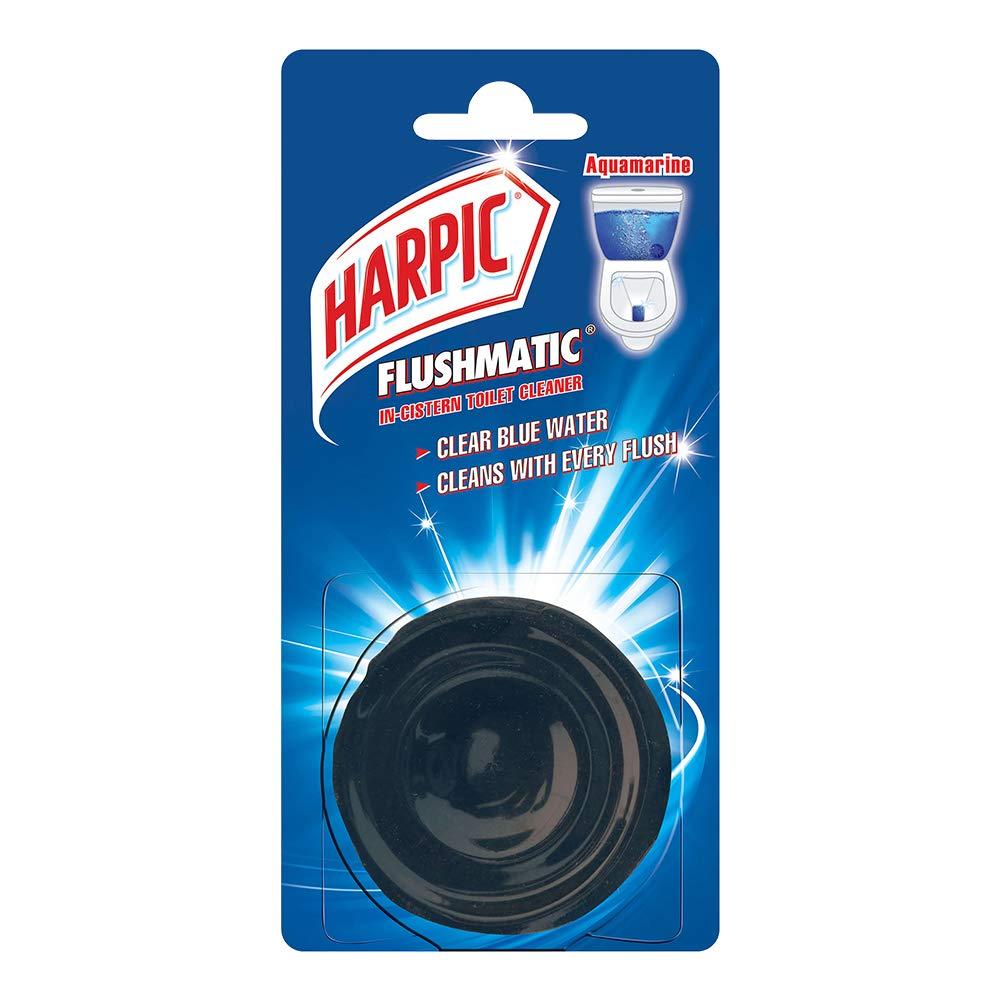 Harpic Flushmatic InCistern Toilet Cleaner Aquamarine 50g