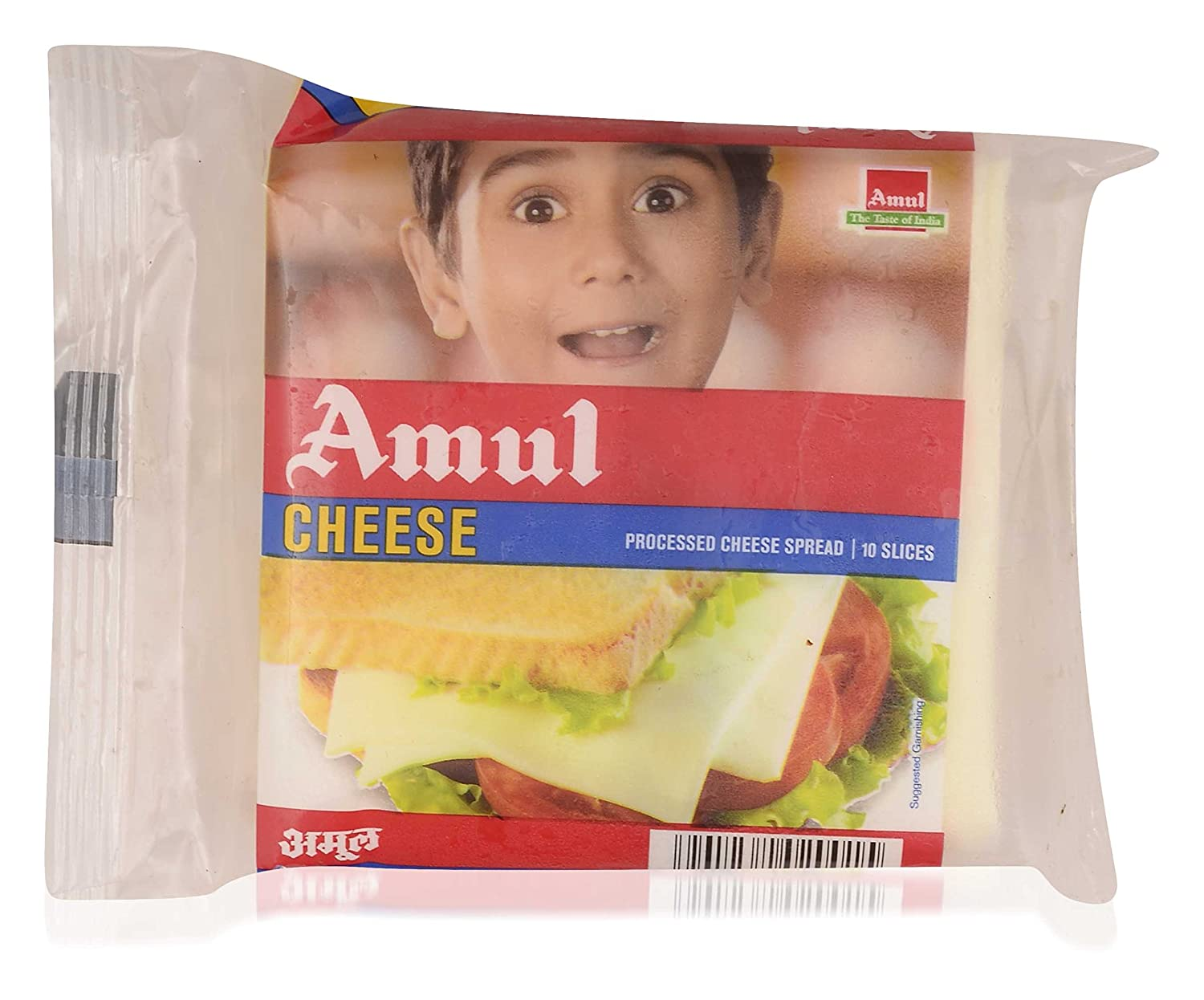 Amul Cheese Processed Slices 200g