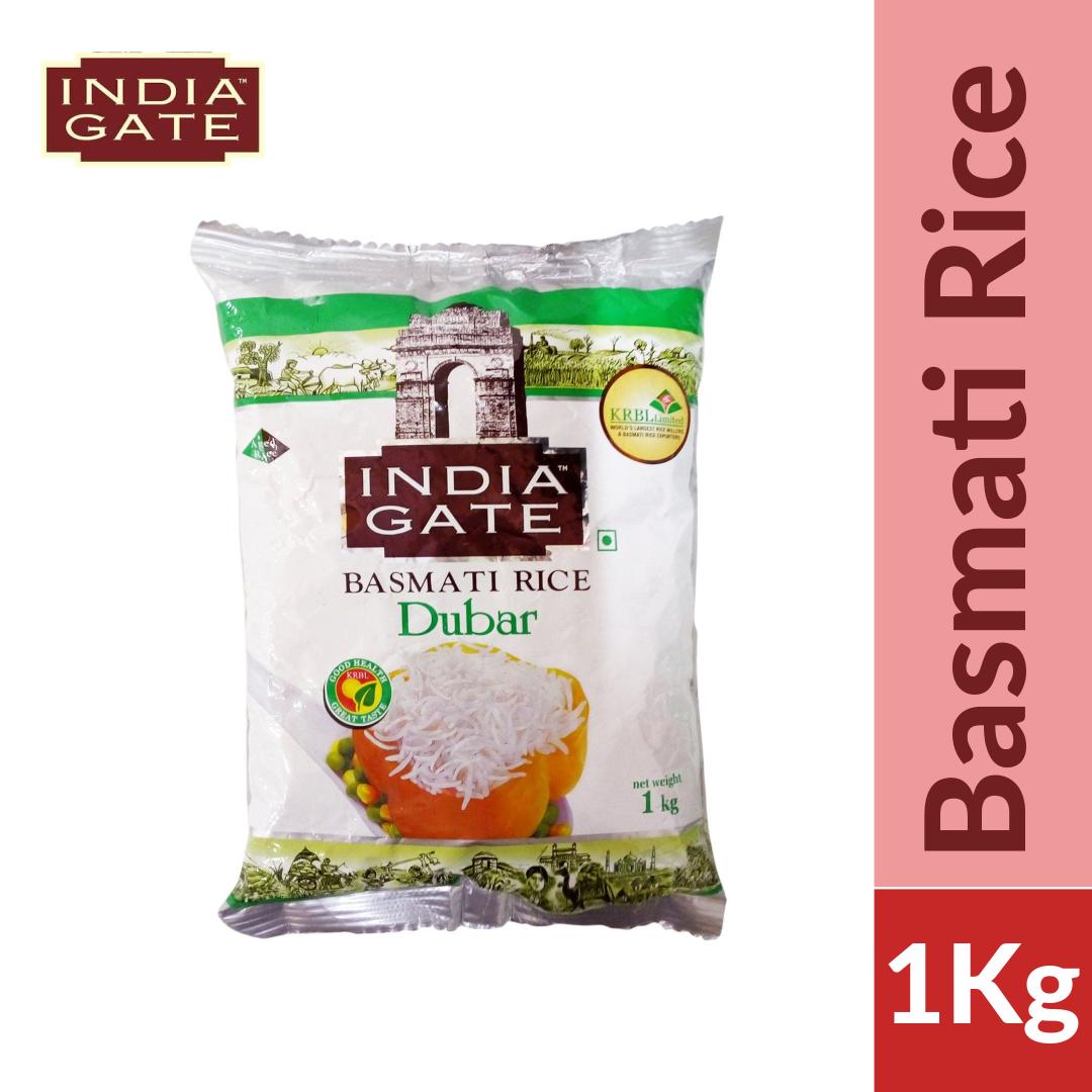 India Gate Dubar Basmati Rice 1kg