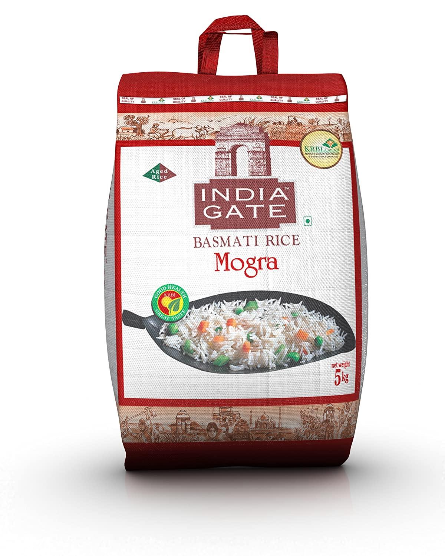 India Gate Basmati Rice Mogra 5kg