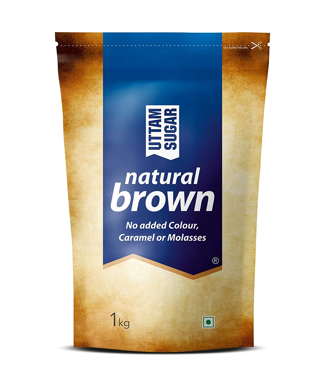 Uttam Sugar Natural Brown Sugar 1kg