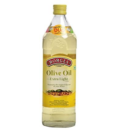 Borges Extra Light Olive Oil 1Ltr