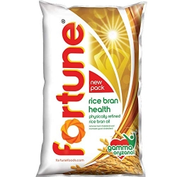 Fortune Rice Bran Health Oil 1Ltr Pouch