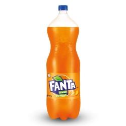 Fanta Orange flavored Soft Drink 2.25ltr