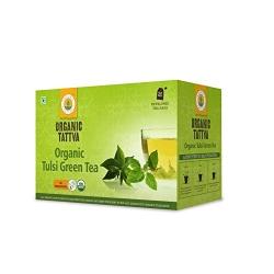 Organic Tattva Tulsi Green Tea 20 Teabags 40g