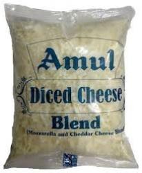 Amul Diced Cheese Blend 200g