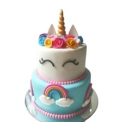 Fondant Cake 14 3kg
