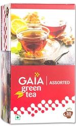 Gaia Assorted Green Tea 25 Tea Bags