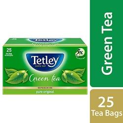 Tetley Green Tea Pure Original 25 Tea Bags