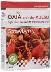 Gaia Muesli Strawberry 400g