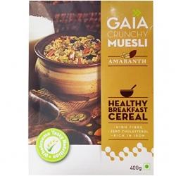 Gaia Crunchy Muesli Amaranth 400g