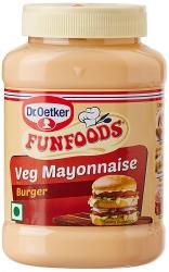 Funfoods Burger Mayonnaise Eggless 250g