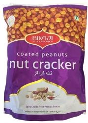 Bikaji Namkeen Nut Cracker Coated Peanut 400g Pouch