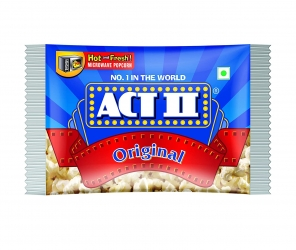 Act ll Microwave Popcorn Natural 99g