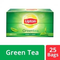 Lipton Pure & Light Green Tea Bags 25 Bags