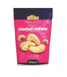 20-20 Divine Roasted Cashew 200g