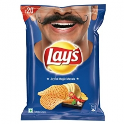 Lays Potato Chips Indias Magic Masala 52g