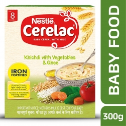 Nestle Cerelac Baby Khichdi With Vegetables & Ghee 300g