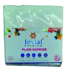 Jovial Premium Plain Napkins 50pcs