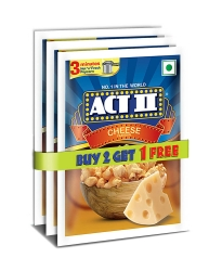 Act ll Instant Cheese Popcorn 70g Pack Of 3Pcs