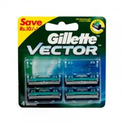 Gillette Vector Cartridges 4Pcs