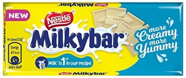 Milkybar Creamy Mould Chocolate 25g
