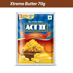 Act ll Xtreme Butter 70g