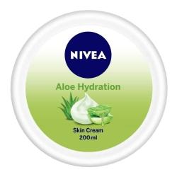 Nivea Soft Aloe Moisturising Cream All Skin Types 200ml