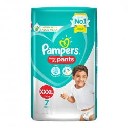 Pampers Baby Dry Pants Xxxl 7 Pants