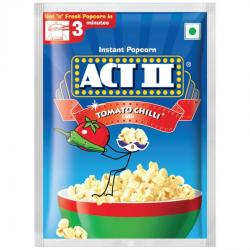 Act II Instant Popcorn Tomato Chilli 59g