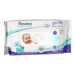 Himalaya Gentle Baby Wipes Extra Soft 72pcs