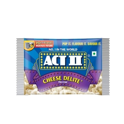 Act ll Microwave Popcorn Cheese Delite 106g